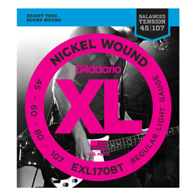 Bilde av D´Addario EXL170BT Balanced Tension El. Bass (045-100)